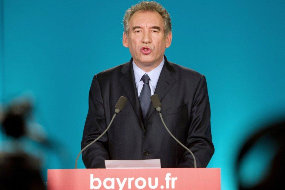 François Bayrou a annoncé aujourd'hui qu'il votera François... (Photo: Bertrand Langlois, AFP)