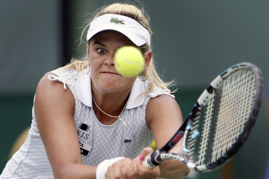 Aleksandra Wozniak... (Photo: archives AP)