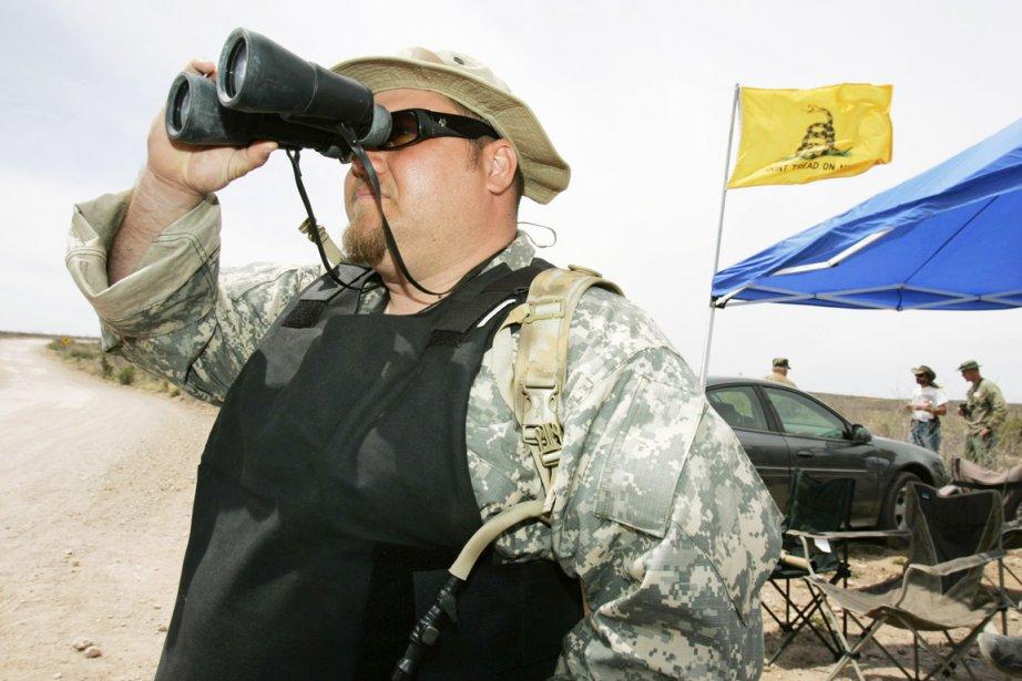 J.T. Ready faisait aussi partie d'un groupe patrouillant... (Photo: Fred Greaves, Archives Reuters)