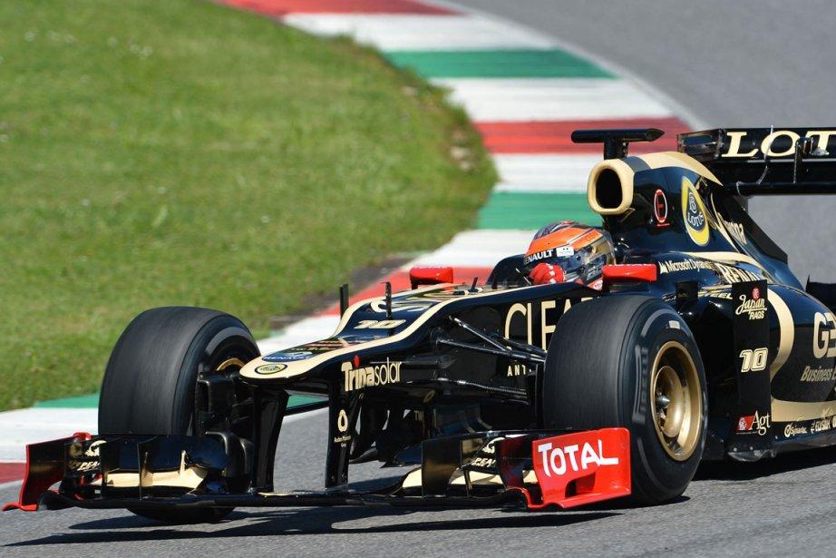 Romain Grosjean (Lotus)... (Photo AFP)