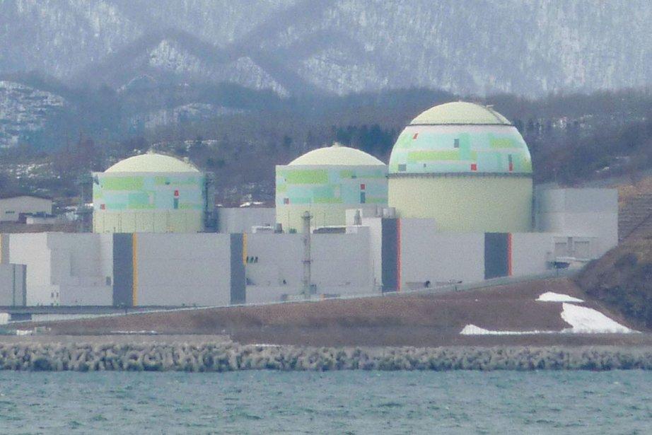 Une centrale nucléaire au Japon.... (Photo AP)
