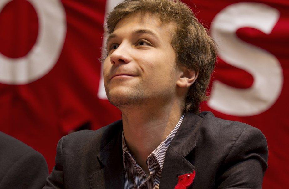 Gabriel Nadeau-Dubois de la CLASSE.... (Photo Ivanoh Demers, La Presse)