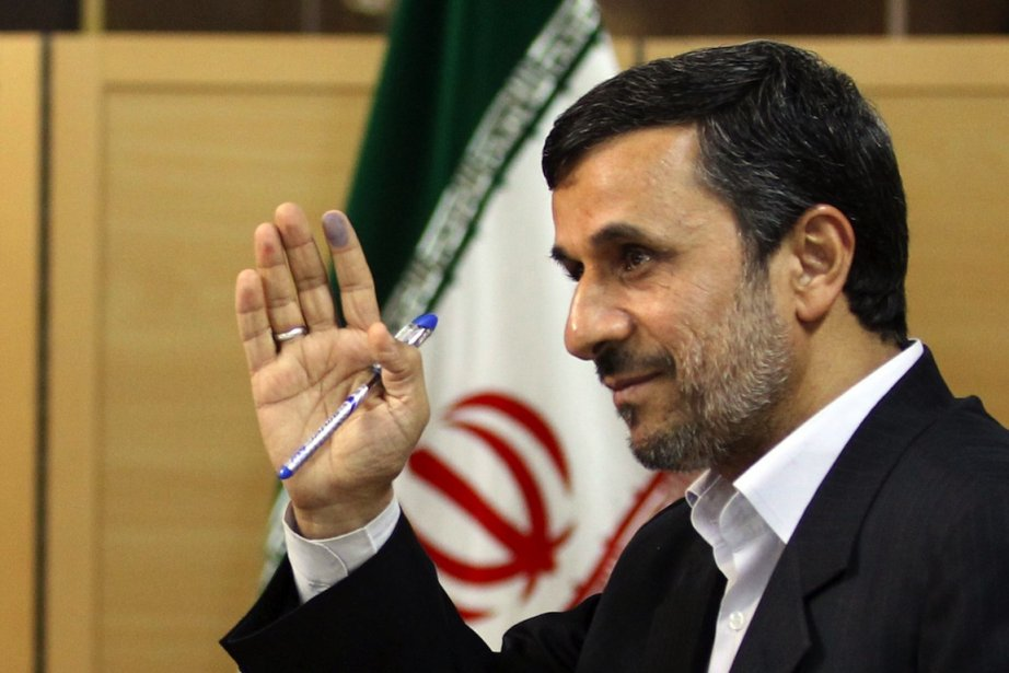 Mahmoud Ahmadinejad... (Photo Atta Kenare, AFP)