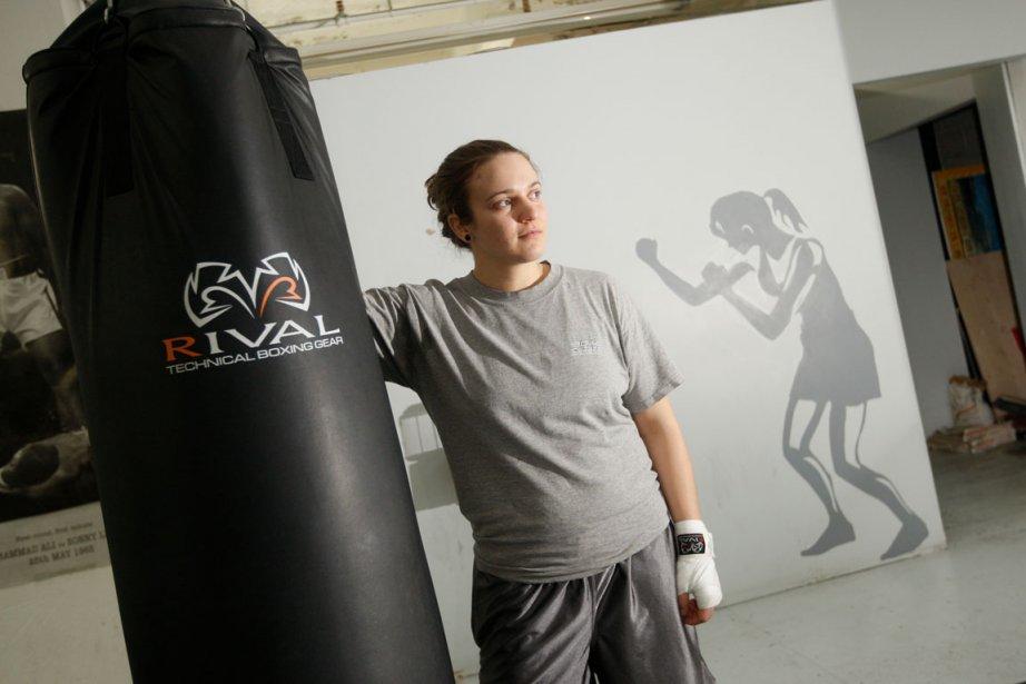 La boxeuse Ariane Fortin, qui a été championne... (Photo Martin Chamberland, La Presse)
