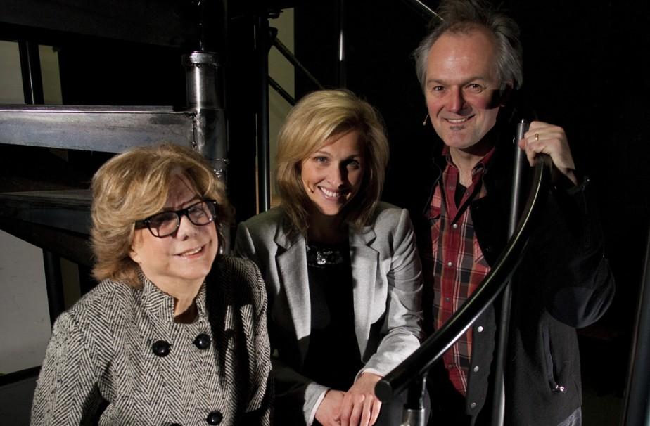 Denise Filiatrault, Geneviève Charest et Jean Maheux dans... (Photo: André Pichette, La Presse)