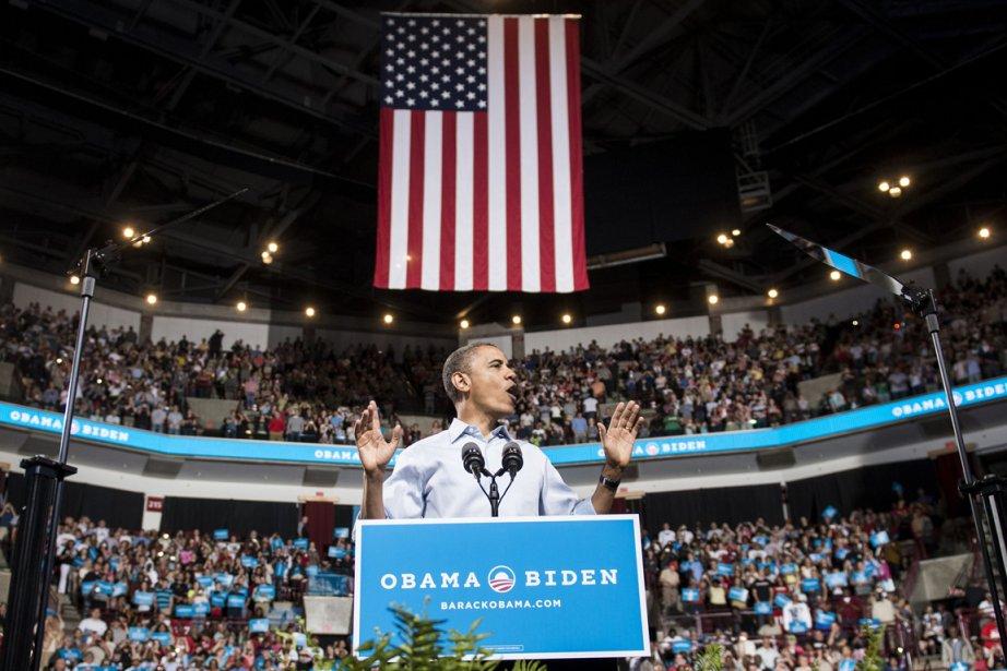 Barack Obama a lancé sa campagne en Ohio,... (Photo Brendan Smialowski, AFP)