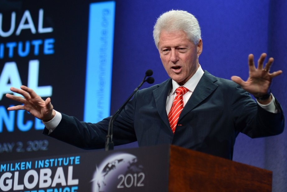Bill Clinton... (Photo : Robyn Beck, AFP)