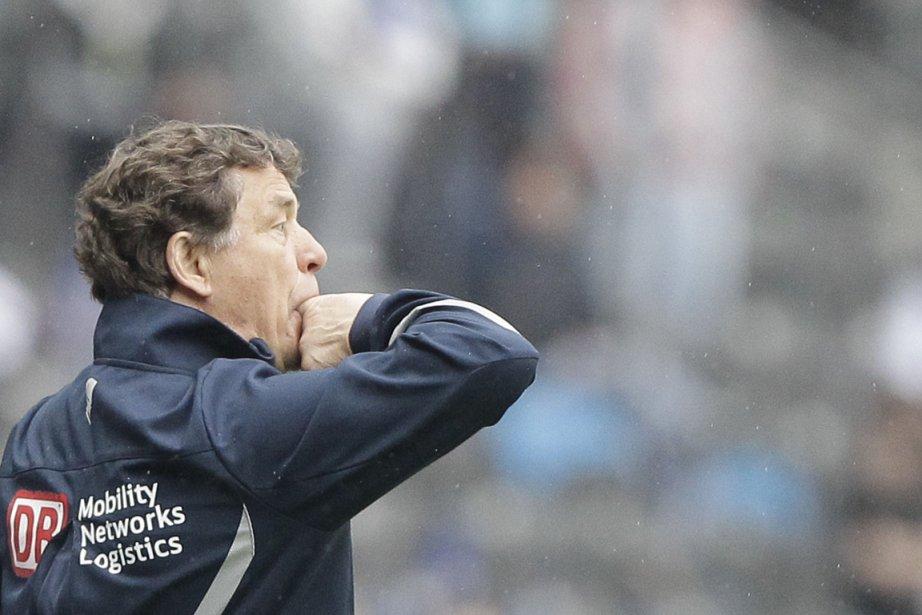 L'entraîneur du Hertha Berlin, Otto Rehhagel.... (REUTERS/Tobias Schwarz)