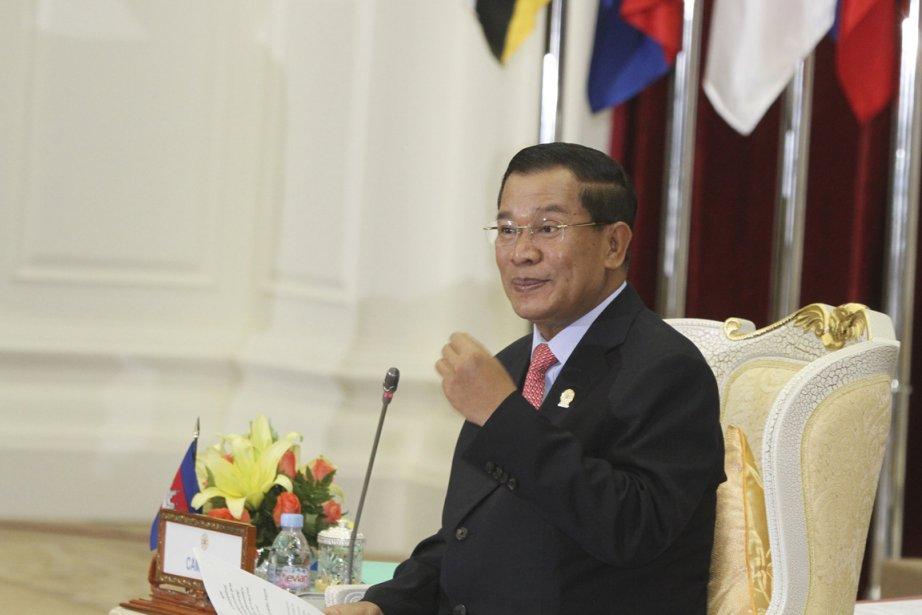 Le premier ministre cambodgien, Hun Sen.... (REUTERS / Samrang Pring)