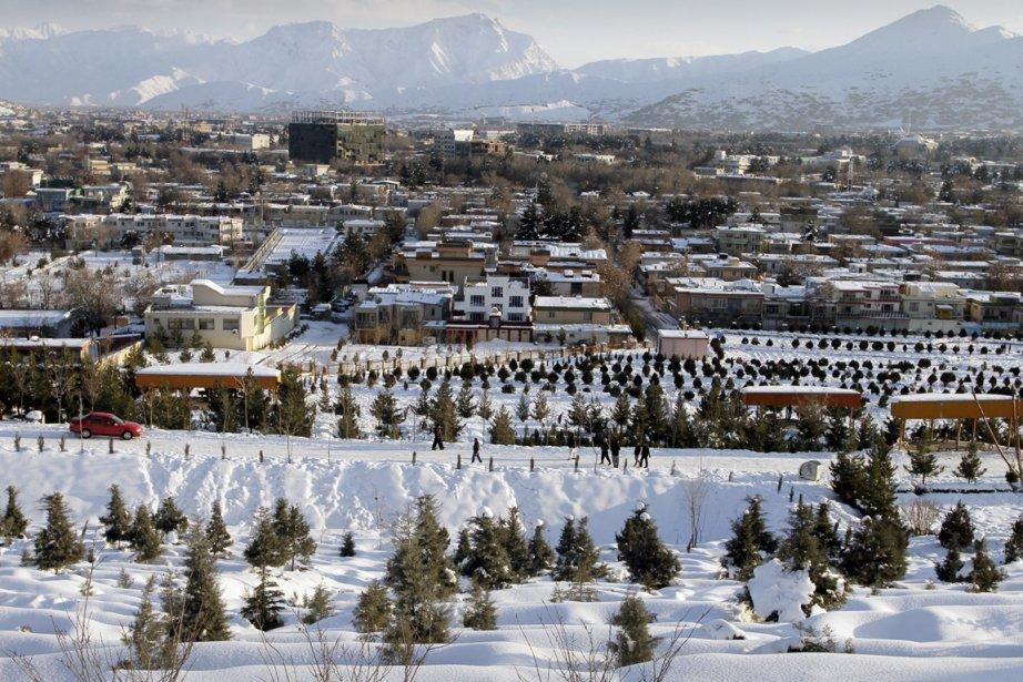La fonte des neiges (ici, une photo de... (AP Photo / Musadeq Sadeq)