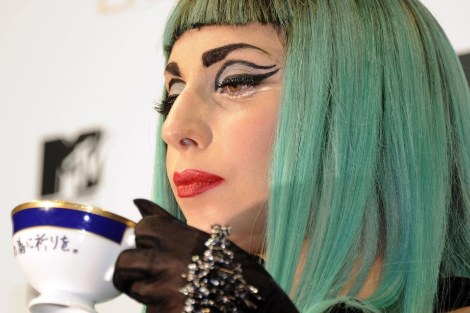 Lady Gaga a utilisé la fameuse tasse de... (Photo: AFP)