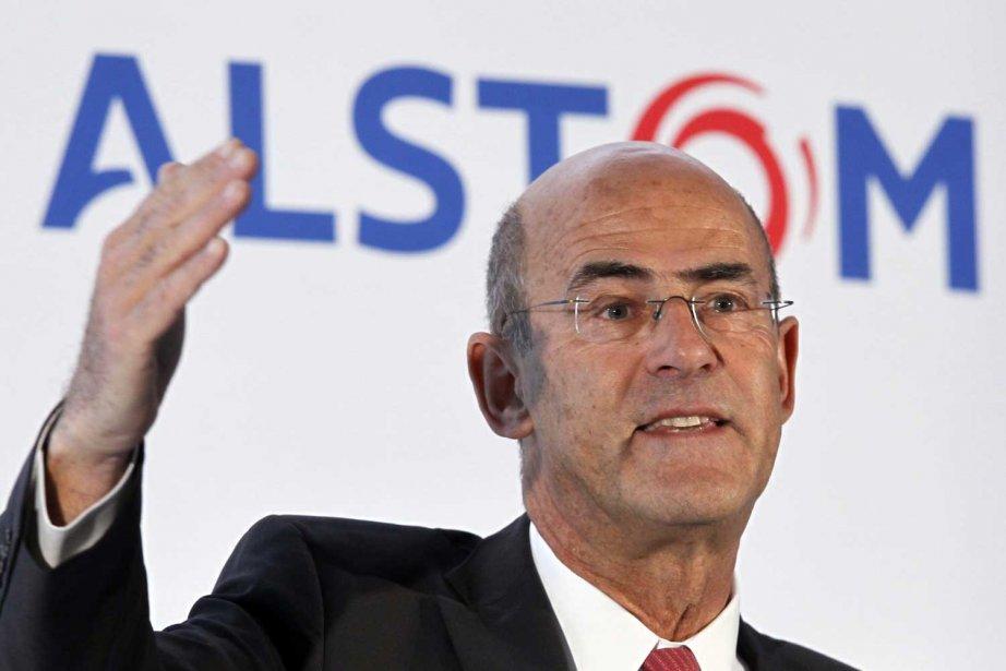 Patrick Kron, grand patron d'Alstom.... (Photo Reuters)