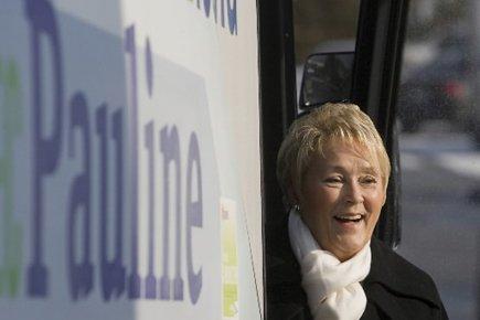 Pauline Marois lors des élections de 2008.... (Photo: David Boily, archives La Presse)