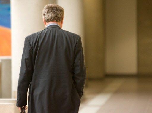 DenisMorasse lors d'un procès à Longueuil, en 2010.... (Photo: André Tremblay, La Presse)