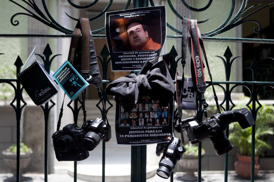 Les découvertes macabres continuent au Mexique. Au début... (Photo AP)