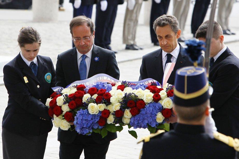 Commémoration de la Victoire du 8 mai 1945... (Photo Reuters)