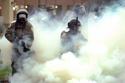 Selon les intervenants, les policiers étaient mal préparés... (Photo: Le Soleil)