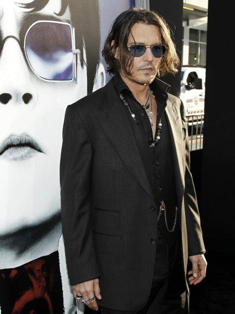Johnny Depp à la première du film Dark Shadows qui se tenait à Los Angeles le 7 mai dernier. | 27 juillet 2012