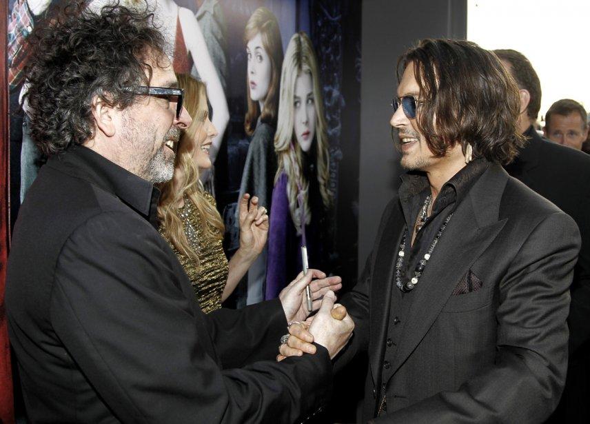 Tim Burton et Johnny Depp | 27 juillet 2012