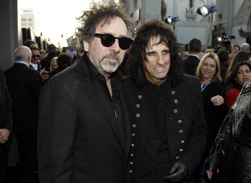 Tim Burton et Alice Cooper | 27 juillet 2012
