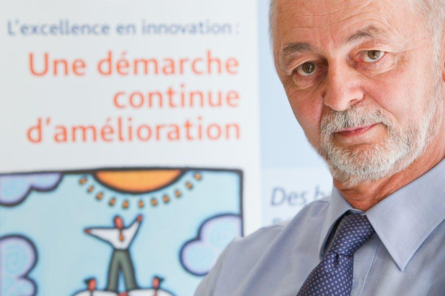 Guy Belletête, directeur général de l'Institut de développement... (Photo Edouard Plante-Fréchette, La Presse)