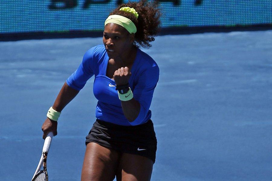 Serena Williams a remporté la finale madrilène.... (Photo: Reuters)