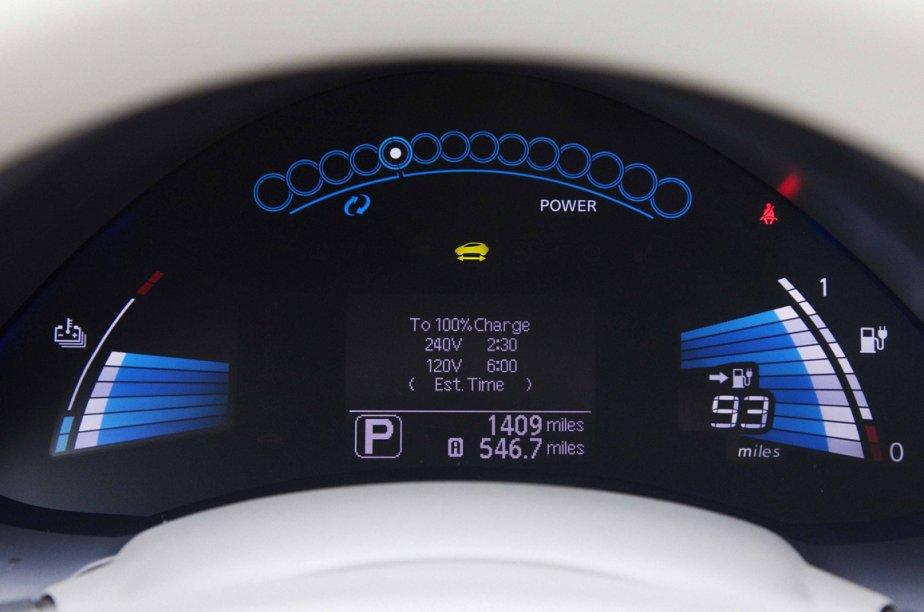 Des économies - Le coût d'usage d'un véhicule électrique défie toute concurrence. Selon un calcul réalisé par Hydro-Québec, il en coûte 300$ par année pour rouler une i-Miev sur 20000 kilomètres. À titre de comparaison, une Smart Fortwo entraîne une dépense annuelle en carburant de l'ordre de 1219$, selon les calculs de Transports Canada. (Photo Éric LeFrançois, collaboration spéciale)