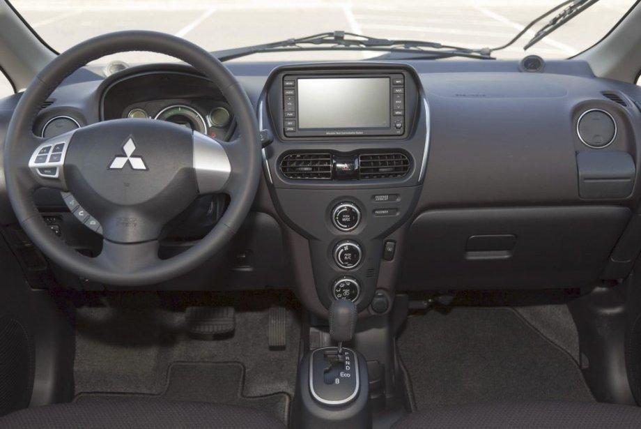 La Mitsubishi i-Miev. (Photo Éric LeFrançois, collaboration spéciale)