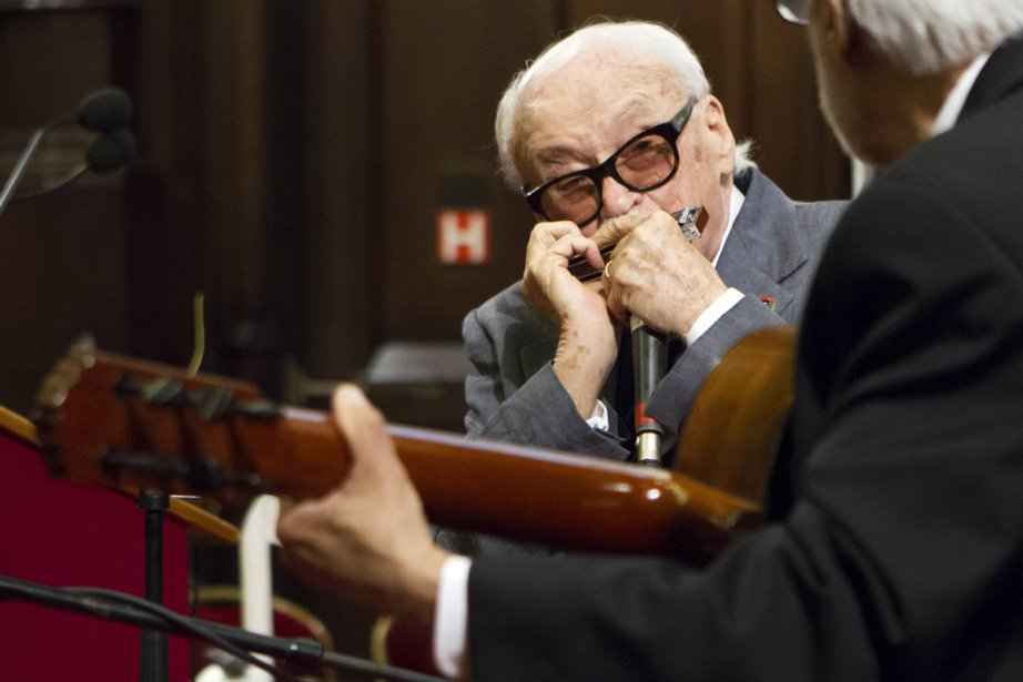 Toots Thielemans... (Photo: Reuters)