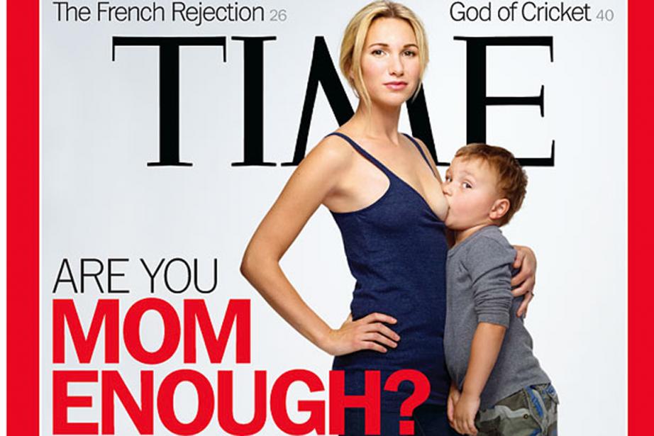 Il n'est pas clair s'il... (Capture d'écran tirée du site de Time Magazine)