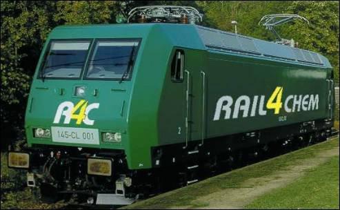 Un véhicule Traxx utilisé en Allemagne....