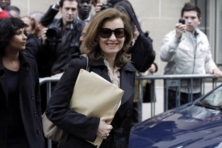 Valérie Trierweiler à Paris le 9 mai.... (Photo: Reuters)