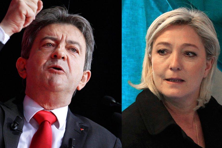 Un affrontement entre Jean-Luc Mélenchon, révélation de la... (Photos: Reuters)