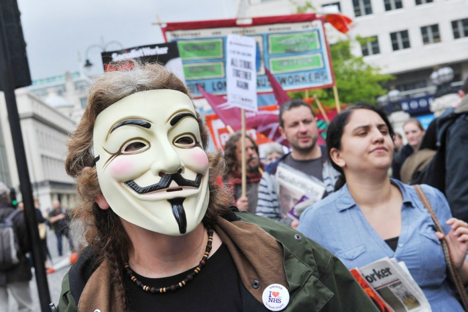 Les «indignés» londoniens ont appelé à manifester samedi... (Photo: Miguel Medina, Archives AFP)