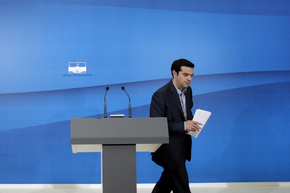 Alexis Tsipras, dirigeant du parti de la Gauche... (Photo: John Kolesidis, Reuters)