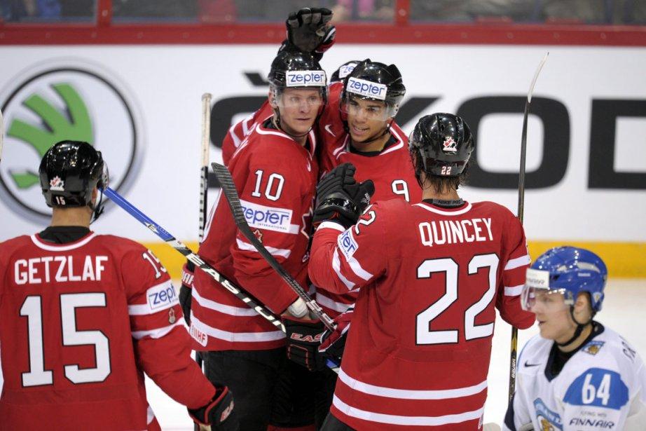 Les Canadiens se retrouvent au sommet du groupe... (Photo: AP)