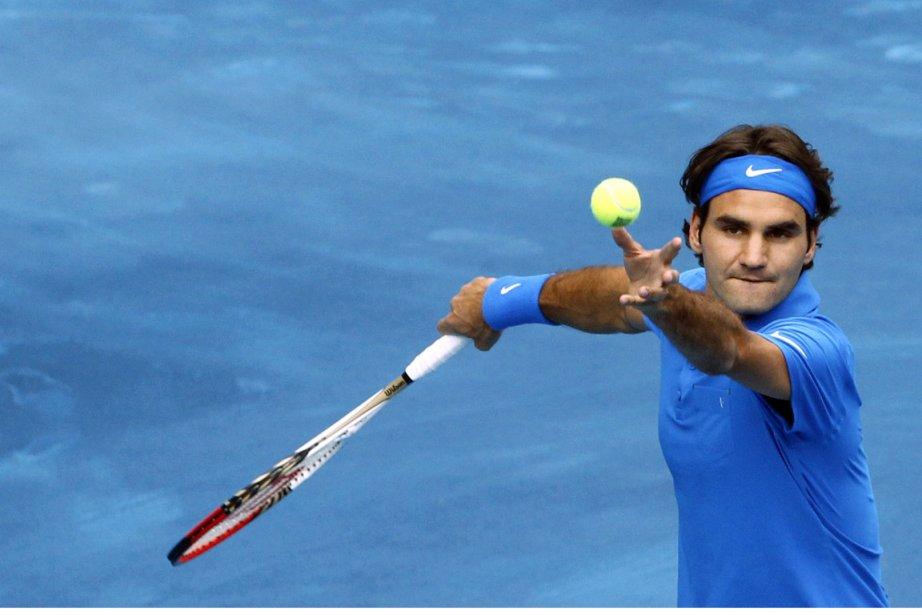 Roger Federer a eu le dessus surle Tchèque... (REUTERS / Susana Vera)