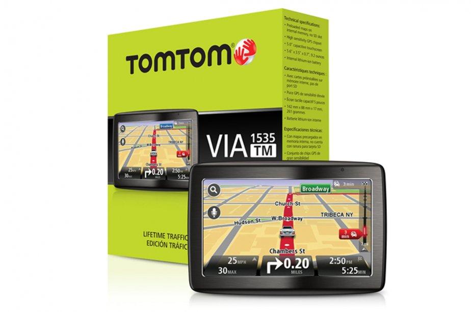 Le lecteur GPS Via TomTom 1535 TM.... (Photo fournie par TomTom)