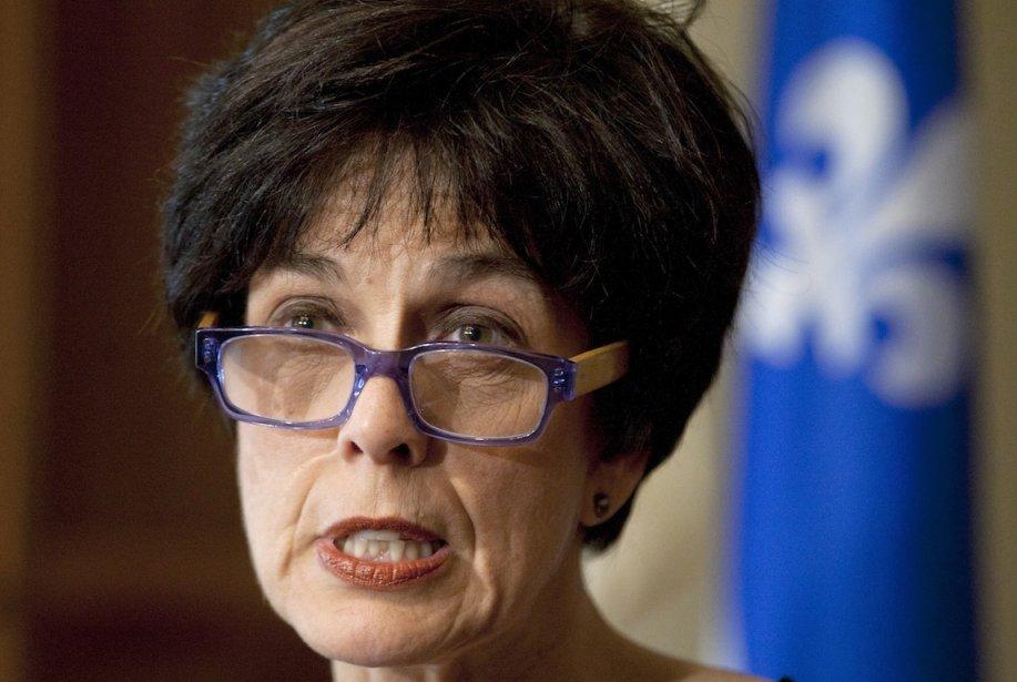 La nouvelle ministre de l'Éducation, Michelle Courchesne, va... (PHOTO: JACQUES BOISSINOT, LA PRESSE CANADIENNE)