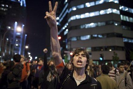 La 21e manifestation nocturne,... (Photo: Olivier Pontbriand, archives La Presse)