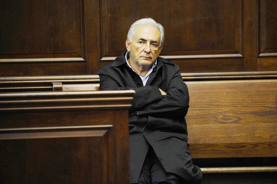 Le 16 mai 2011, l'ex-grand patron du FMI... (Photo: Emmanuel Dunand, AFP)