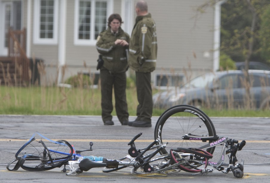 Le coroner que la pratique des cyclistes de... (Photo Ivanoh Demers, archives La Presse)