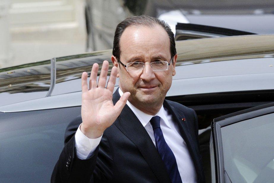 François Hollande devient le premier socialiste à accéder à la présidence française depuis François Miterrand, qui a quitté l'Élysée en 1995. M. Hollande met ainsi fin à une disette de 17 ans pour les socialistes. (Photo: LIONEL BONAVENTURE, AFP)