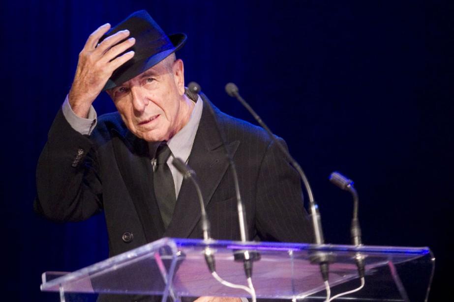 Leonard Cohen a reçu hier le prix Glenn... (PHOTO ARCHIVES LA PRESSE CANADIENNE)