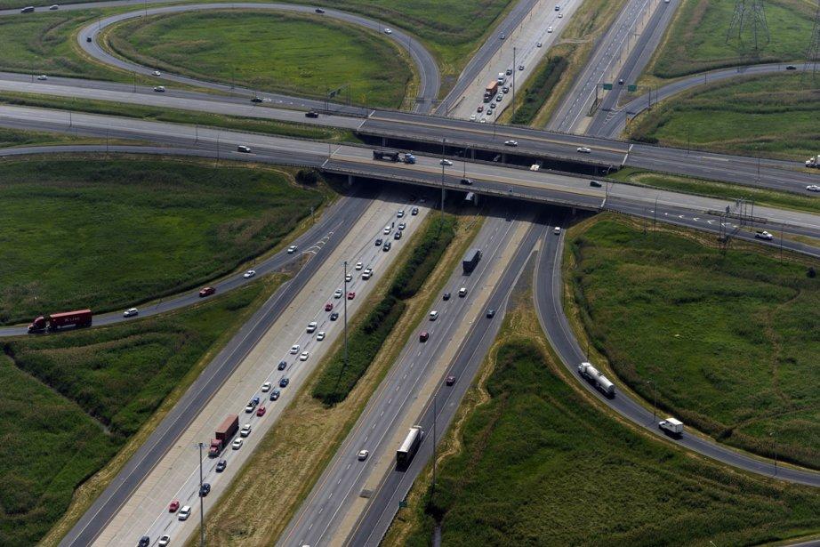 L'A30, ici à la haute de l'A20, aura... (Photo: Bernard Brault, La Presse)