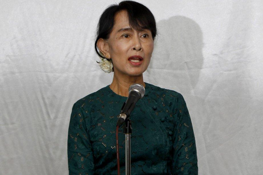 Aung San Suu Kyi... (Photo : Nyein Chan Naing, AP)