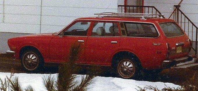 «Voici notre première familiale, achetée en 1977 avec 8000 km,... | 2012-05-15 00:00:00.000