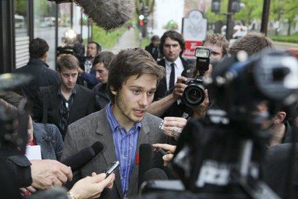 Le président de la FECQ,  Léo Bureau-Blouin,... (Photo: PC)