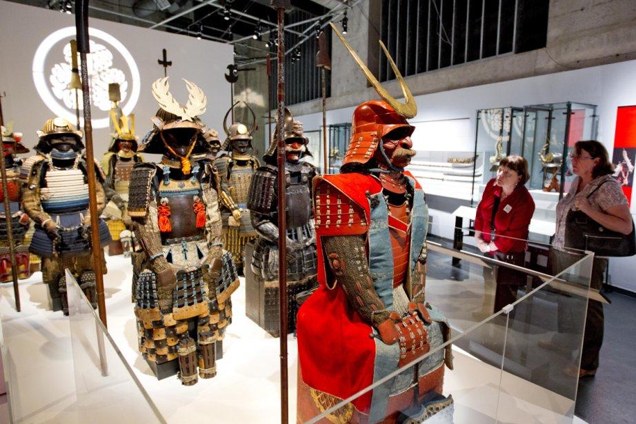 Chacune des 19 armures samouraï est différente des... (Photo: Alain Roberge, La Presse)