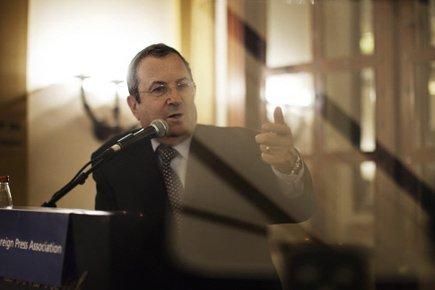 Le ministre israélien de la Défense, Ehud Barak.... (Photo: AFP)